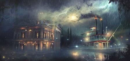 Departing Nightly by Joel Christopher Payne art print