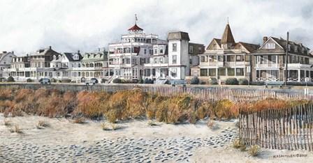 Beach Drive by Nicholas Santoleri art print