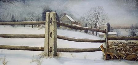 A View of the Hunt by Nicholas Santoleri art print
