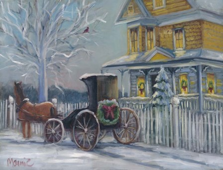 Oneco Holiday 2 by Marnie Bourque art print