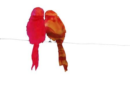 Birds by Clive Branson art print