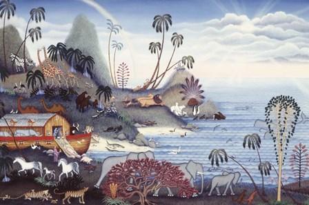 Back To Land by Kathy Jakobsen art print