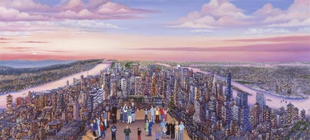 View From 86 Floor by Kathy Jakobsen art print