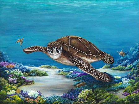 Roaming Reef by Penny Scarboro Fine Art art print